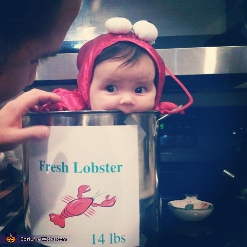 Sweet Little Lobster Costume