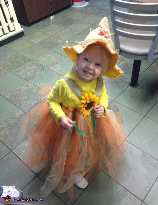 Sweet Scarecrow Baby Costume