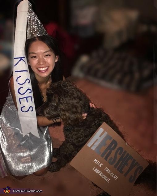 Hershey's Kiss and Hershey's Bar, Sweet Treat Costume