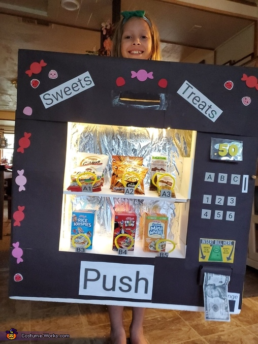 Sweets Treats Vending Machine Costume