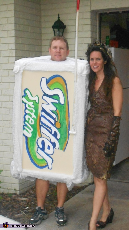 Swiffer and Mud Lady Costume