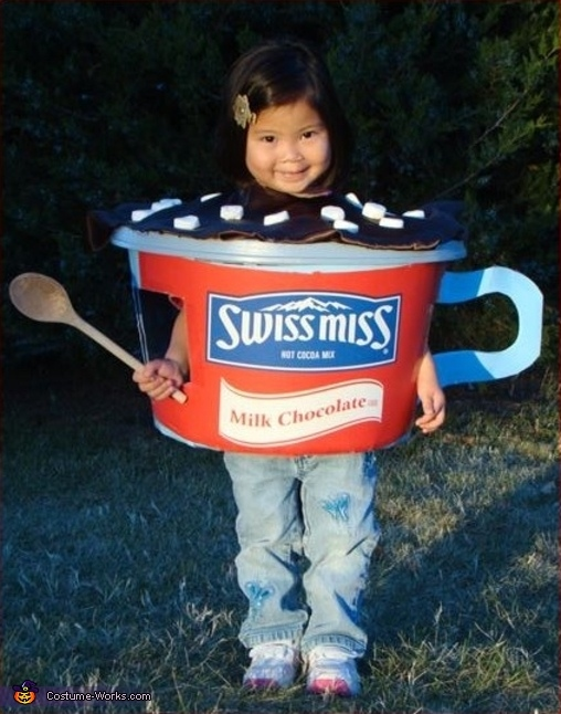 Cup of Swiss Miss Cocoa Costume