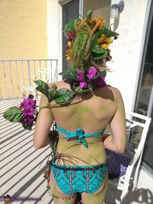back, Sylvari Costume