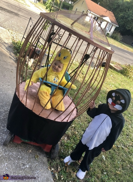 Sylvester and Tweety Bird Costume