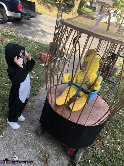 Sylvester and Tweety Bird Homemade Costume