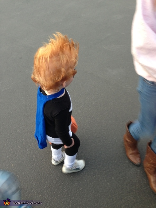 Syndrome side view, Syndrome from The Incredibles Costume