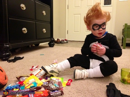 Syndrome after his candy raid, Syndrome from The Incredibles Costume