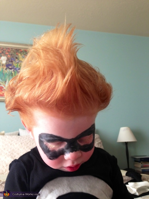 Syndrome's hair, Syndrome from The Incredibles Costume