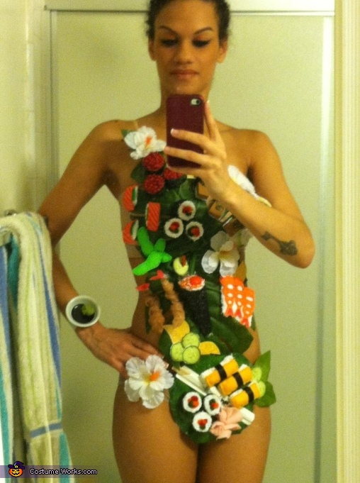 Body Sushi Costume
