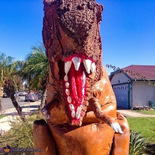 T-Rex Homemade Costume