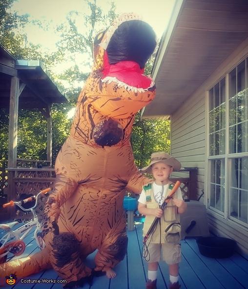 T-Rex Hunter Costume
