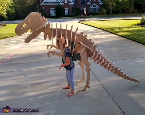 T-Rex Skeleton Costume
