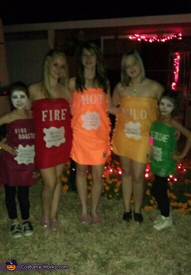 Taco Bell Packet Costumes
