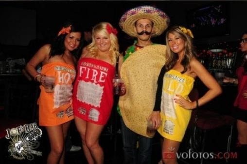 Taco Bell Sauce Packets Costume
