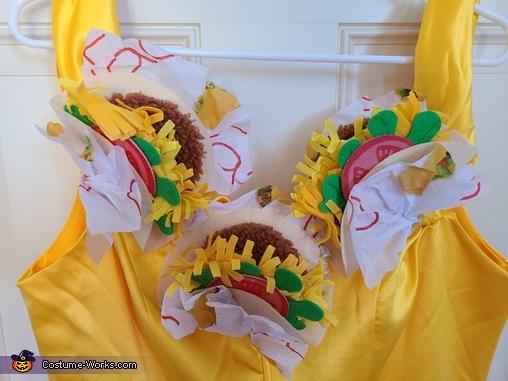 Taco Belle Homemade Costume