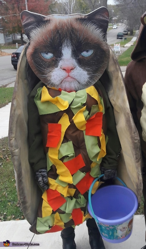Taco Cat farting out Rainbows Costume
