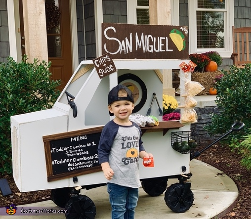 San Miguel's Taco Truck Costume