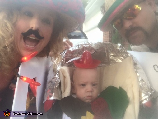 Taco Truck Homemade Costume