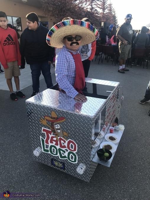 Taco Truck Homemade Costume