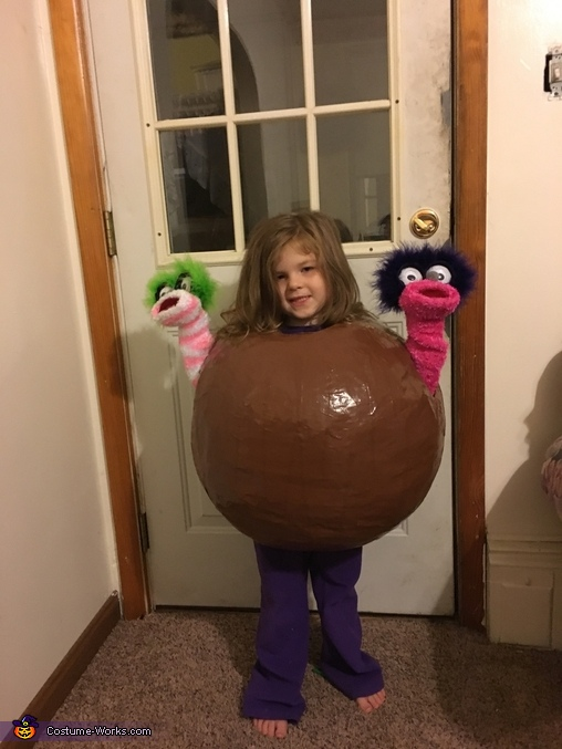 Before the sprinkles, Taffy Apple Costume