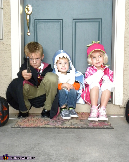 Taffyta with her brothers, Harry and Baby Jaws, Taffyta Muttonfudge from Wreck-It Ralph Costume