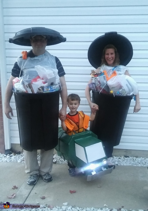 Taking out the Trash Costume