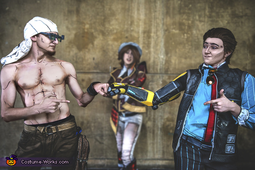 Vaughn and Rhys, Tales from the Borderlands Costume