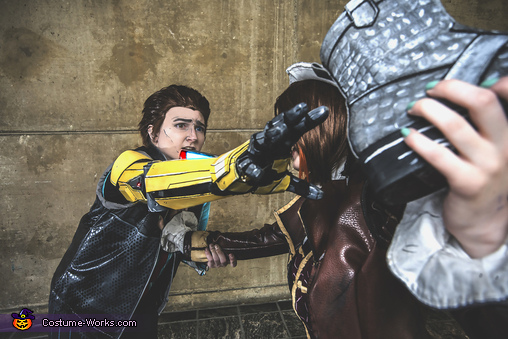 Rhys and Fiona, Tales from the Borderlands Costume