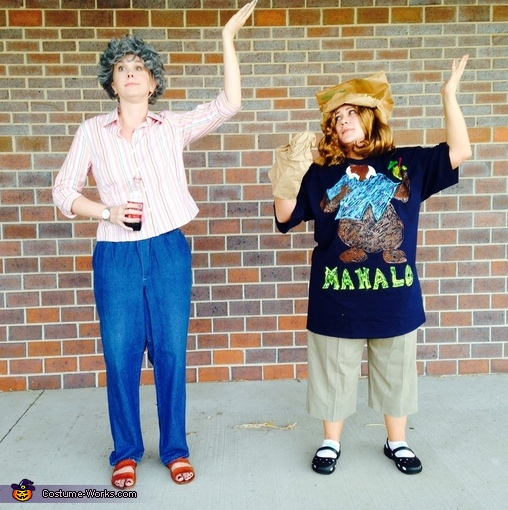 Tammy and Grandma Costume