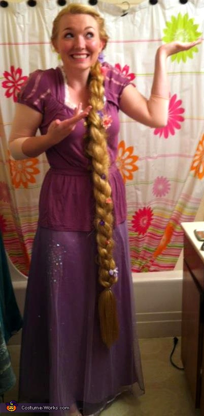 Tangled's Rapunzel - Homemade costumes for women