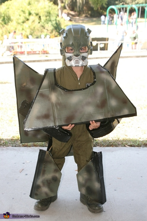 Home Made Tank Transformer costume