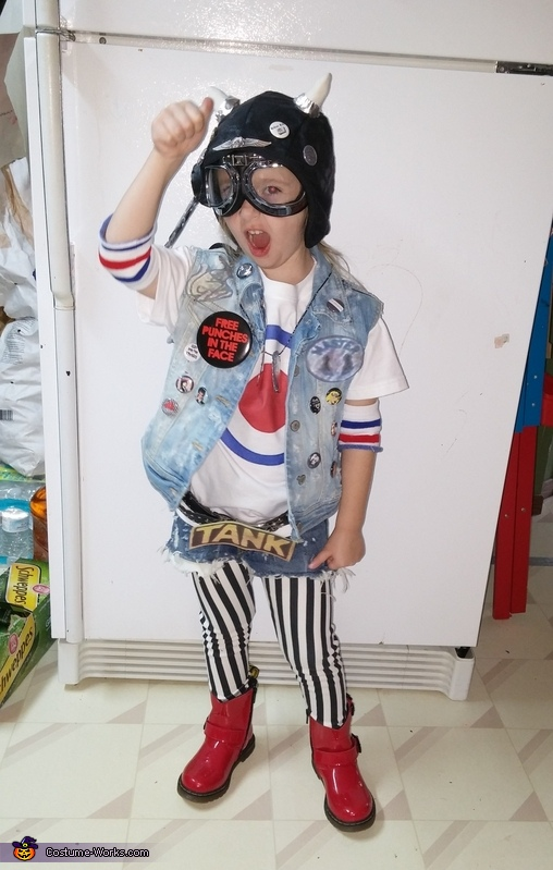 Tank Girl Homemade Costume