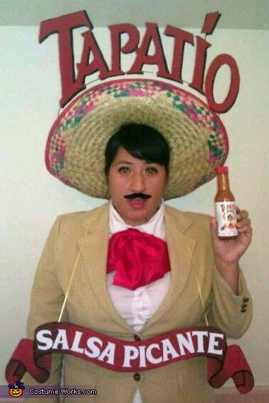 Tapatio Hot Sauce Man Costume