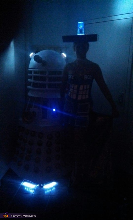 Tardis and Dalek Homemade Costumes