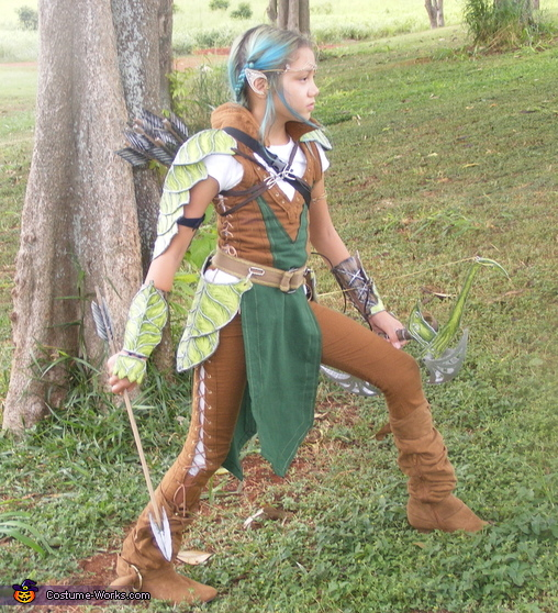 Tauriel the Elf Ranger in The Hobbit Costume
