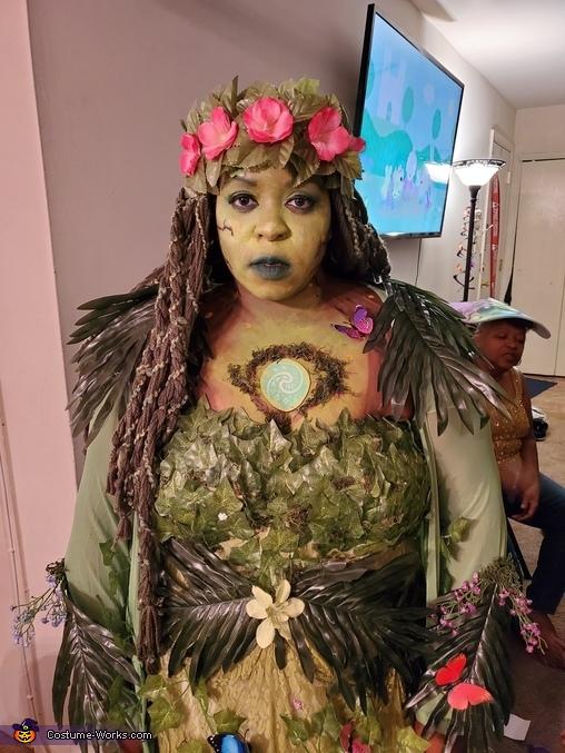 Te Fiti from Moana Homemade Costume