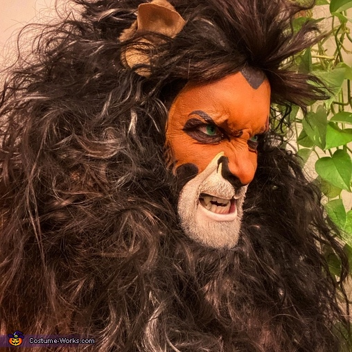 Face detail, Teacher Gone Wild Costume
