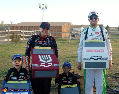 NASCAR Team Hendrick Family Costume