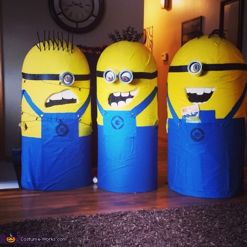 our costumes for 2013!!!, Team Minions Costume