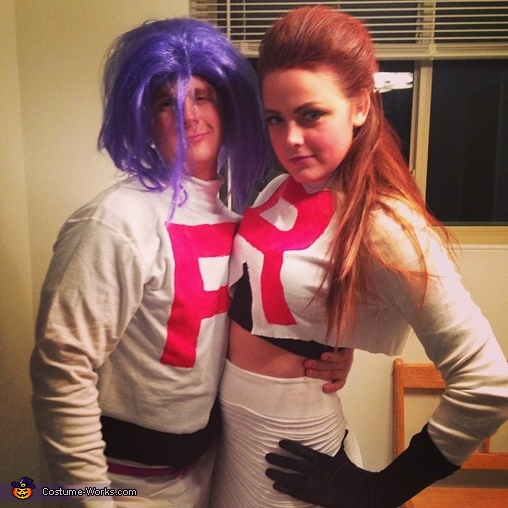sc 1 st  Costume Works & Pokemon Team Rocket Jessie and James Costume