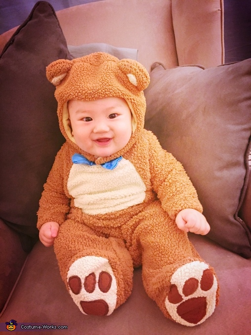 Berry Happy Bear, Teddy Bear Baby Costume