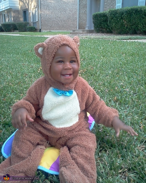 Cute Teddy Bear Baby Costume