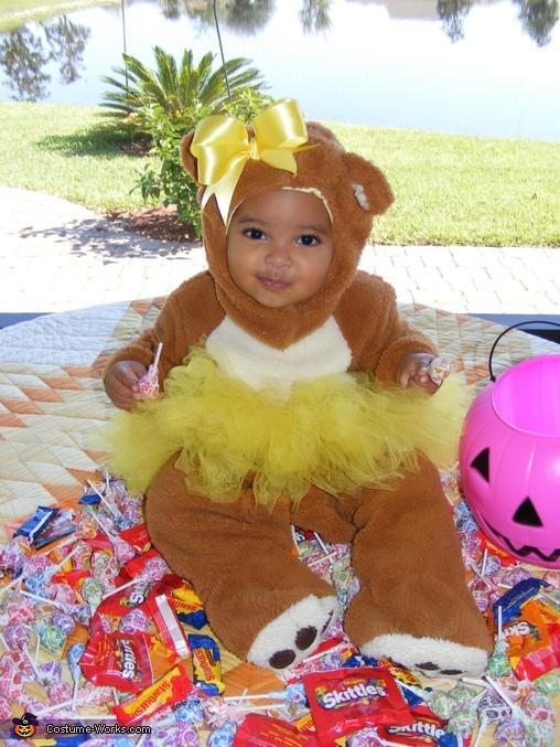 Teddy Bear Ballerina Costume
