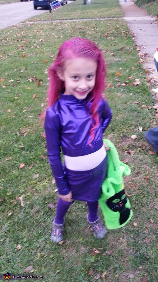 Teen Titans Homemade Costume