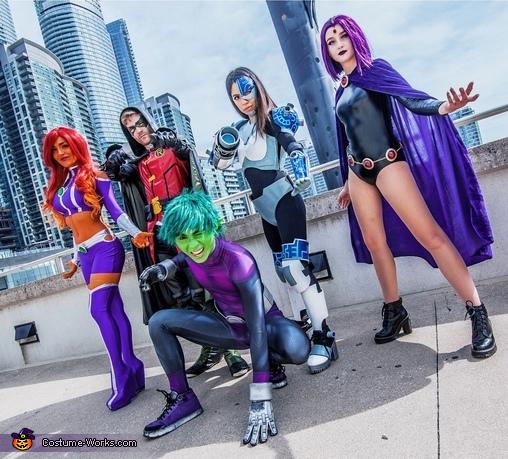 Teen Titans Homemade Costume