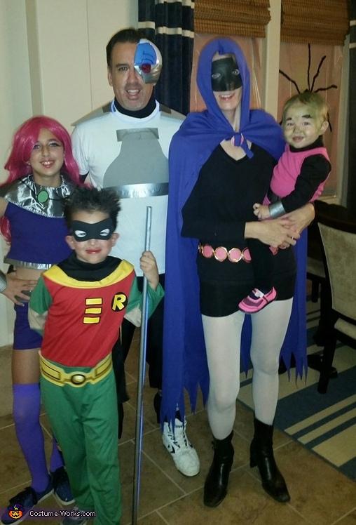 Teen Titans Go Costume