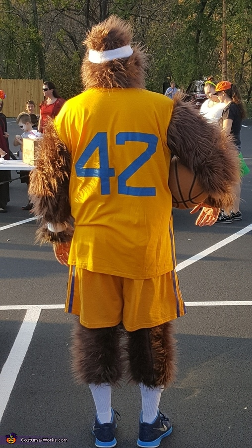 Back, Teen Wolf Costume