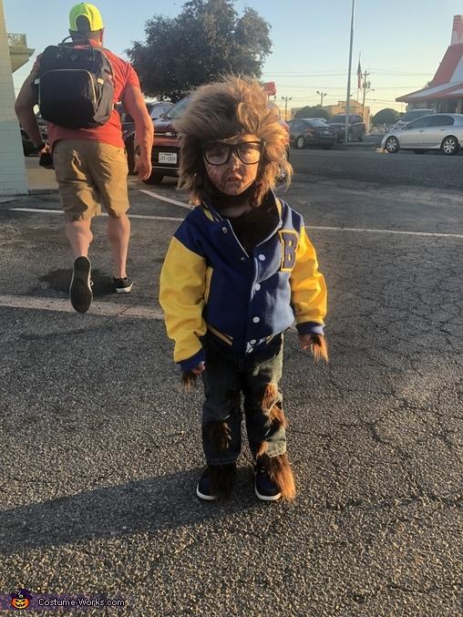 Teen Wolf Homemade Costume