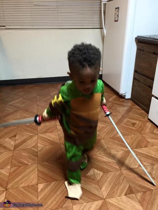 Teenage Mutant Ninja Turtle Leonardo Costume
