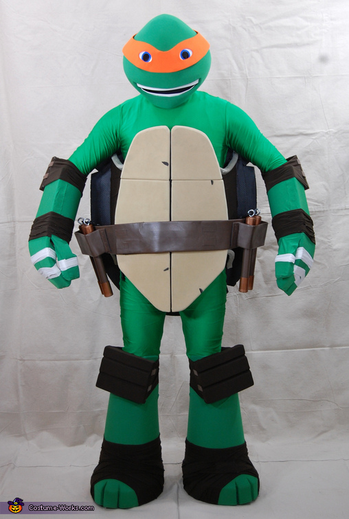 Teenage Mutant Ninja Turtle Michelangelo Costume